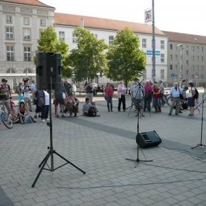 9. Mahnwache für Frieden und Freiheit Cottbus (3)