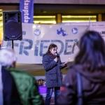 Mahnwache für Frieden und Freiheit Cottbus am 3ten November 2014 (1)