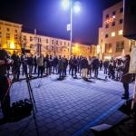 Mahnwache für Frieden und Freiheit Cottbus am 3ten November 2014 (11)